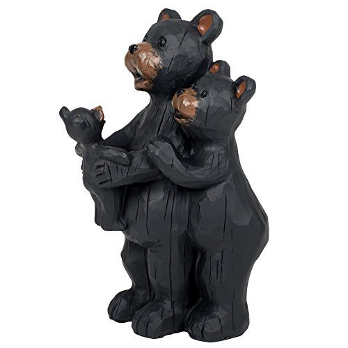 Bear Family 6.5 Inch Resin Decorative Tabletop Figurine