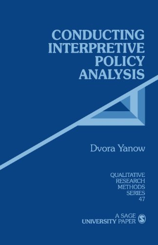 Conducting Interpretive Policy Analysis