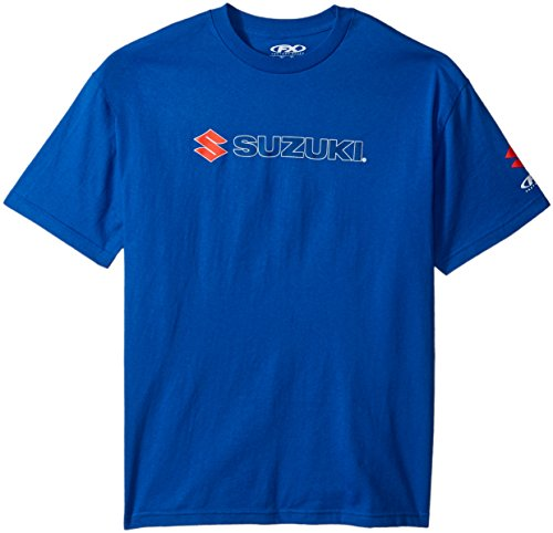 Factory Effex 15-88464  'Suzuki' Team T-Shirt (Blue, X-Large) (Suzuki Apparel)