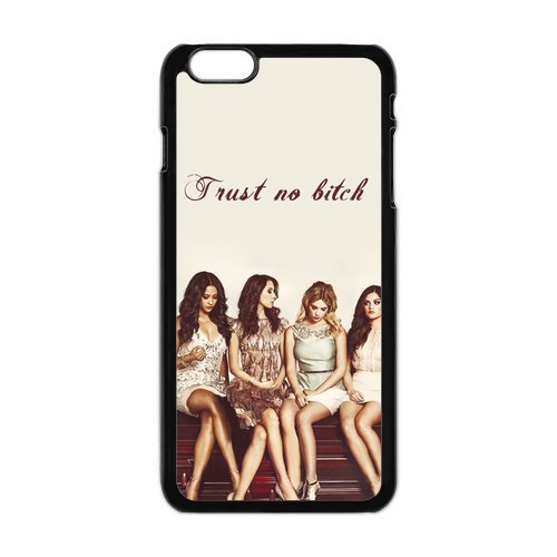 6SCase.com-16711-FEEL.Q- Pretty Little Liars TV Show Personalized Hard Textured Rubber Bumper Case Cover for iPhone 6Plus 6+ 6S Plus-B0132JIA1G