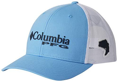 - Columbia PFG Logo Snap Back Ball Cap, Breathable, Adjustable