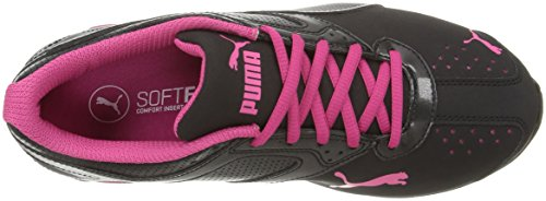 PUMA Women's Tazon 6 WN's fm Cross-Trainer Shoe Black Silver/Beetroot Purple, 7 M US by PUMA (Image #8)