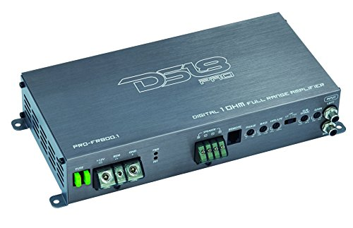 DS18 PRO-FR800.1 800 Watts RMS Full Range Class D Monoblock
