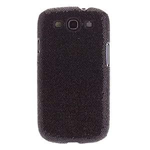 hao Bling Glitter Hard Back Case for Samsung Galaxy S3 i9300 , Black