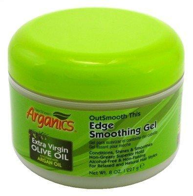 Edge Gel Packs (Arganics Outsmooth This Edge Smoothing Gel 8oz (3 Pack))