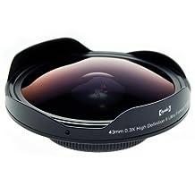 Opteka Platinum Series 43mm 0.3X HD Ultra Fisheye Lens for Digital Video Camcorders (43mm Mount)