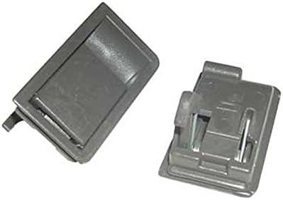 Kit de cierre marrón para rejilla de campana extractora, Whirlpool, ikéa, Bauknecht. Livré par 2, Dimensiones