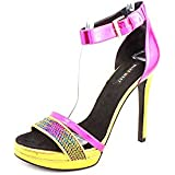 Nine West First Met Women Open Toe Synthetic Platform Sandal