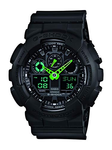 Casio Men's 'G-Shock' Quartz Resin Sport Watch GA100C-1A3
