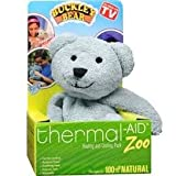 Thermal-Aid 100% Natural Heating and Cooling Packs for Kids (Blue Bear - Buckley)