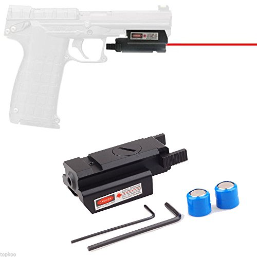 Tactical Mini Red Dot Laser Sight for 4 Pistol/Glock17 19 20 21 22 31 34 35 37