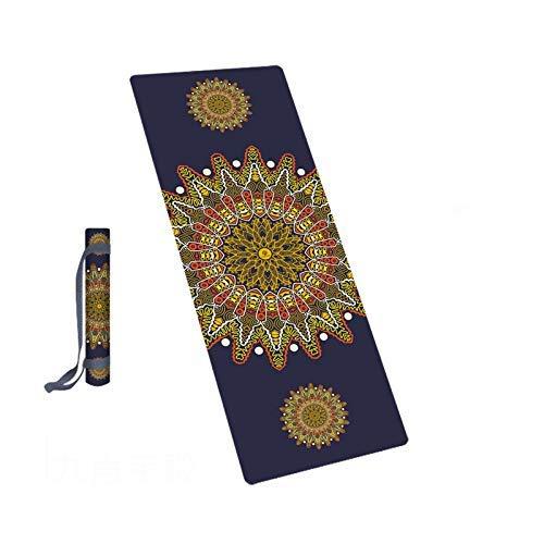BAIF Tapete de Yoga Cuadrado/tapete de meditación, Alfombra ...