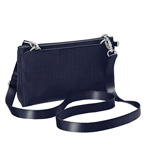Convertible Bag Earphones Navy Wristlet Clutch Crossbody Shoulder Baggallini RFID Bundle Travel 5UgxgP