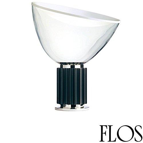 Flos Taccia Led 28w Lampada Terra Nero F6607030 Design Castiglioni