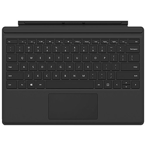 Pro Type Keyboard - Microsoft Surface Pro 4 Type Cover Black (R9Q-00001)