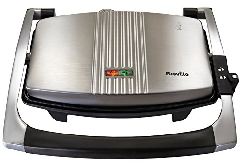 Breville VST025 Sandwich Press, Stainless Steel