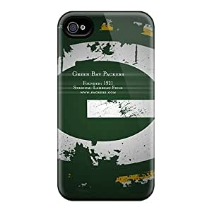 New Diy Design Green Bay Packers Logo For Iphone 4/4s Cases Comfortable For Lovers And Friends For Christmas Gifts