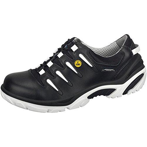 Abeba dimensione 114,30 cm (45) 34883-45 ESD-Crawler Low-Scarpe di sicurezza, colore: nero/bianco