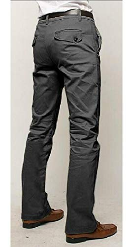 Pantalon Formel Avant Plat De Coton Pour Hommes Maweisong Robe Pantalon Extensible Pantalon Décontracté Coupe Droite Gery