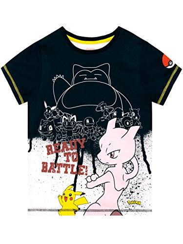 Pokemon Boys Snorlax T-Shirt Blue Size 5