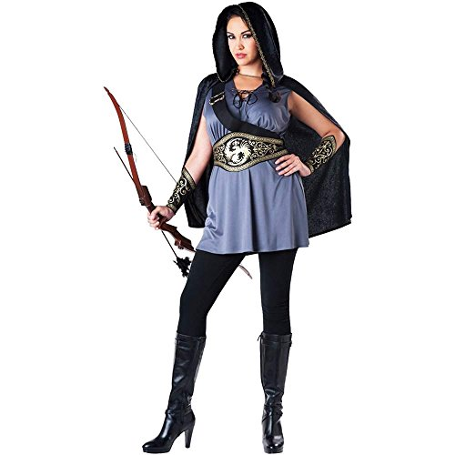 Hooded Huntress Adult Costume - Plus Size -
