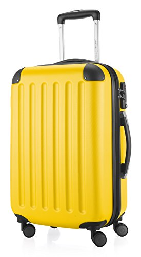 HAUPTSTADTKOFFER – Spree – Carry on luggage Suitcase Hardside 20 TSA Yellow2