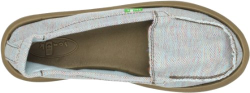 Women's Blue Light Shorty Sanuk Flat WOBxAwnA