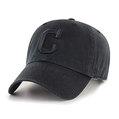 '47 Cleveland Indians Current Black Clean Up Classic Style Adjustable Cap