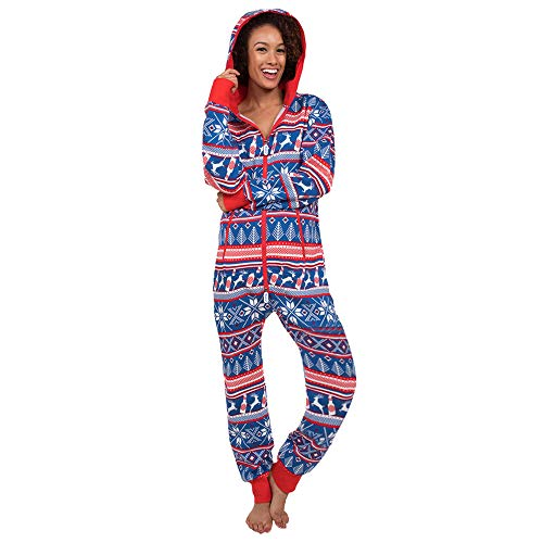 Women's Christmas Hooded Pajamas