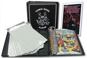 Comic Book Collector Collecting Starter Kit