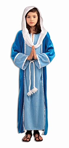 Forum Novelties Biblical Times Deluxe Mary Costume, Child Large (Virgin Mary Costumes)