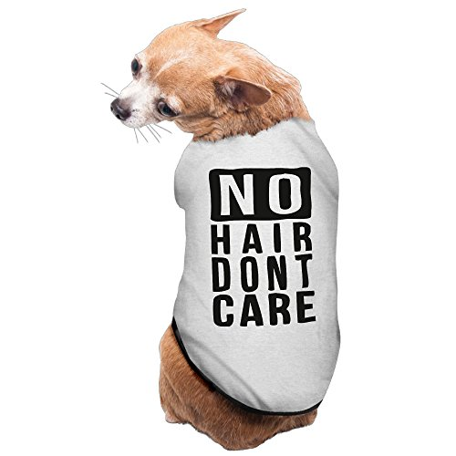 [YRROWN No Hair Don't Care Puppy Dog Clothes] (Zombie Babies Spirit Halloween)