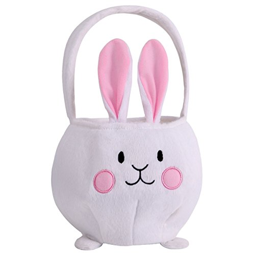Easter Basket For Kids - Easter Bunny Basket Easter Party Tote Bags for Kids Toddler