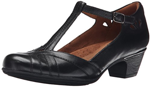 Rockport Cobb Hill Women's Angelina Dress Pump, Black, 10 M US