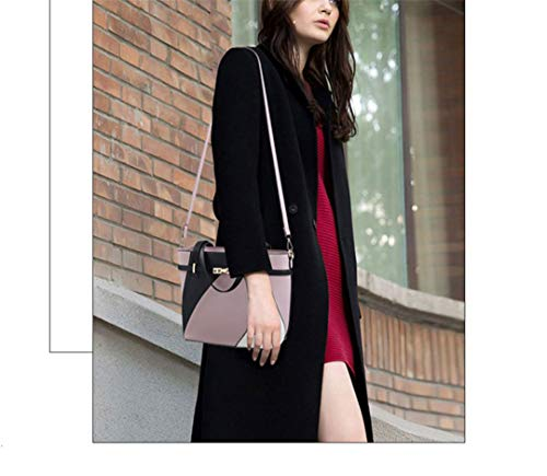Capacity Women's Quality Large Bag Shoulder Leather Pu High Pruple RBzq5