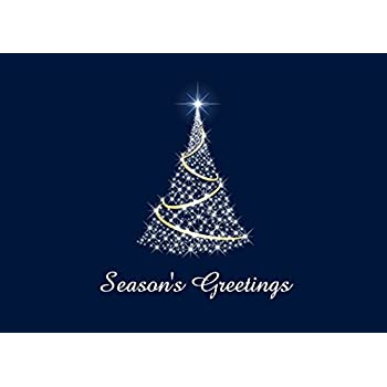 holiday greeting cards h1506 business greeting card with an image of a bright - Business Christmas Cards