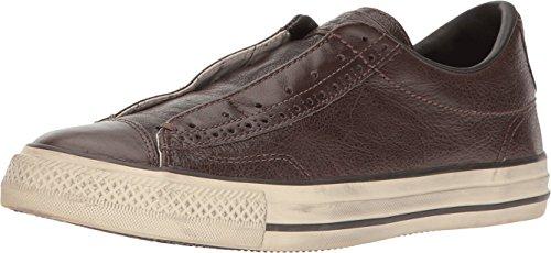 1eae0d049055 Converse by John Varvatos Leather Vintage Slip On Sneaker Chocolate Brown  (11.5 M US)