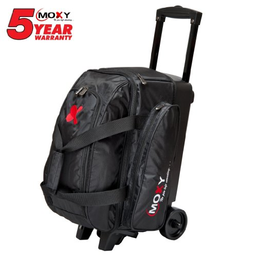 Moxy Double Roller Bowling Bag- Many Colors Available () by Moxy Bowling Products
