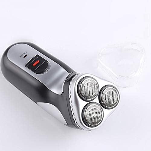 TOOGOO Maquinilla de afeitar eléctrica giratoria de enchufe de la ...