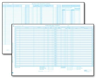 EGP Sales Receipts Journal Sheet