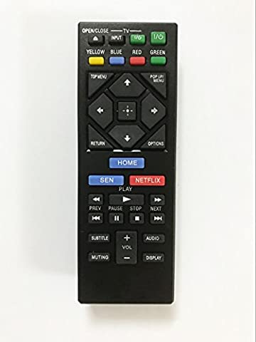 Replacement Remote Controller use for BDP-S6200 BD-BX370 BDP-S2200 BDP-S2500 Sony Blu-ray Disc (Blu Ray Sony Bdp S6200)