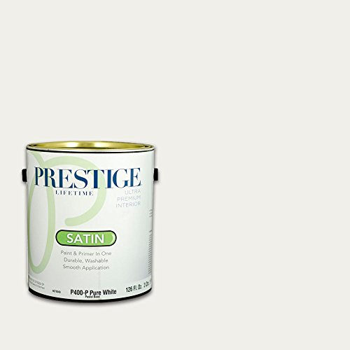 Prestige Interior Paint and Primer in One, 1-Gallon, Satin, Apple Blossom ()