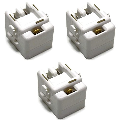 61005518 Relay and Overload 12002782 Fits Maytag Kenmore 3 Pack by Fits Maytag Kenmore