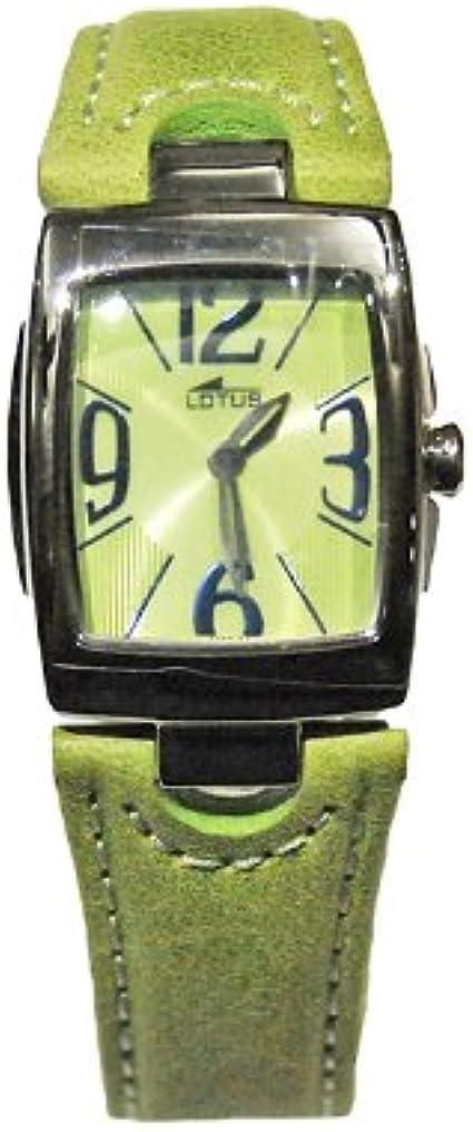 Reloj Mujer Lotus ref. 15388/4 piel verde
