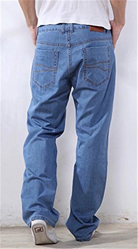 EMAOR Mens Big and Tall Denim Pants Straight Leg Jeans Plus Size by EMAOR Mens (Image #2)
