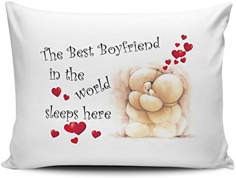 World Sleeps Here Pillow