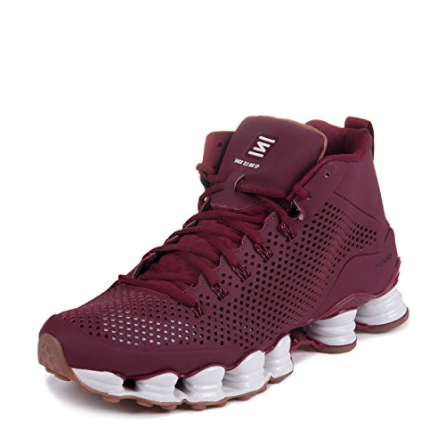 super popular 03a23 ff13c Nike Mens Shox TLX Mid SP Team Red/Sail-Gum Brown Synthetic Athletic  Sneakers Size 12 - Buy Online in Oman. | Apparel Products in Oman - See  Prices, ...