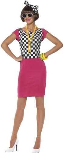 Desconocido Disfraz de los años 80 para mujer: Amazon.es: Juguetes ...