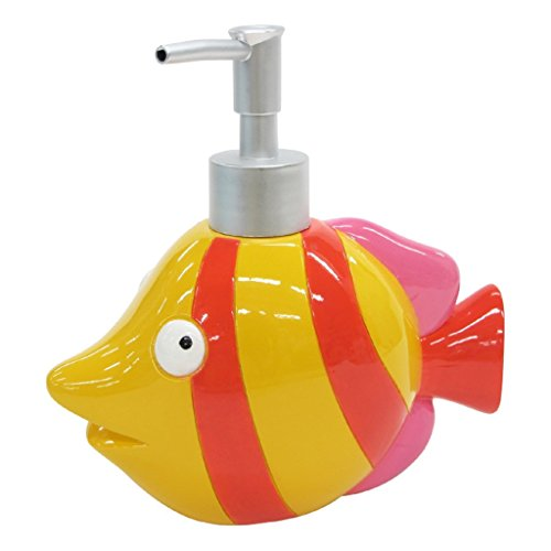 - Allure Home Creation Fish Tails Resin Lotion Bottle