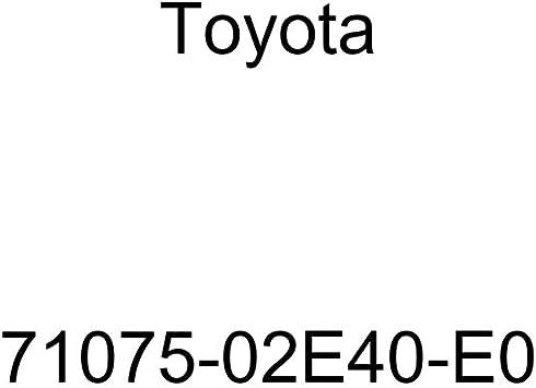 TOYOTA Genuine 71075-02E40-E0 Seat Cushion Cover